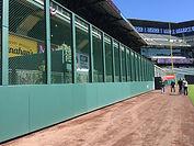 Baseball field padding | Dugout rail padding | SportsVenuePadding.com
