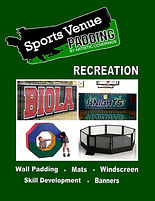 Sports Venue Padding - Recreation Catalog