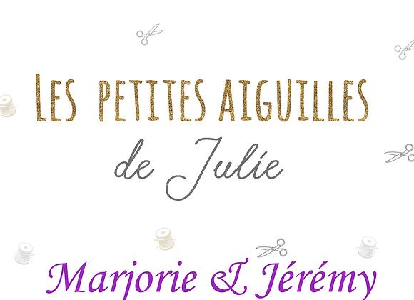 Liste de Naissance de Marjorie et Jérémy