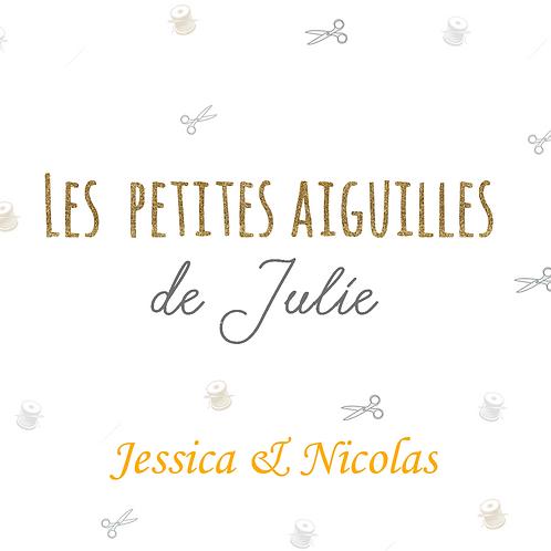 Liste de Naissance de Jessica & Nicolas