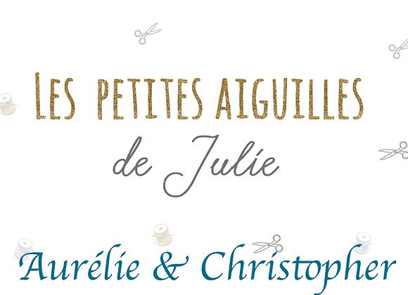 Liste de Naissance de Aurélie & Christopher