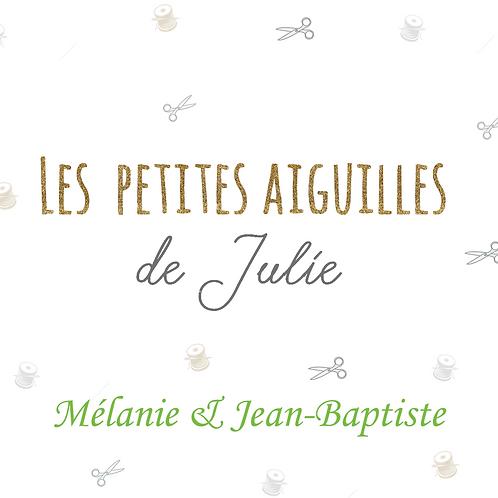 Liste de Naissance de Mélanie & Jean-Baptiste