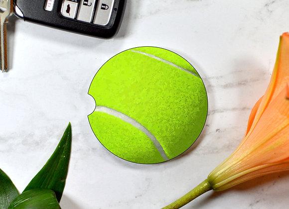 Tennis Ball Car Coaster