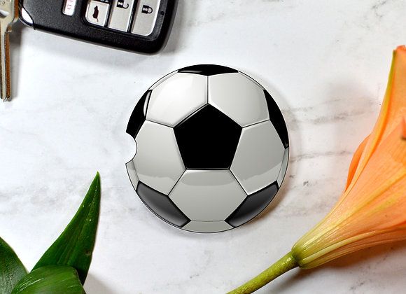 Soccer Ball Car Coaster