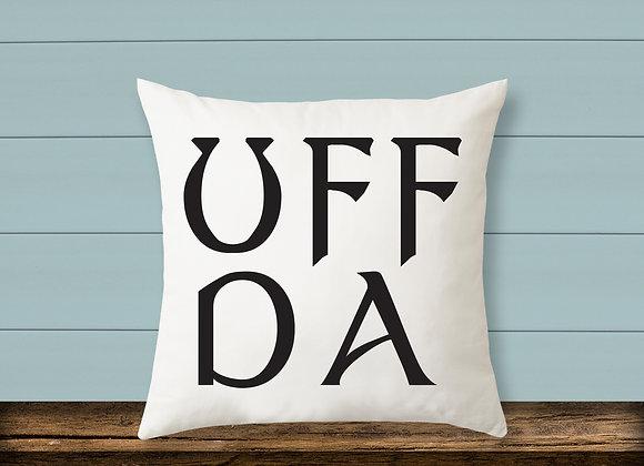 Norwegian Uff Da Pillow