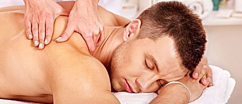 Schouder en nek massage, triggerpoint