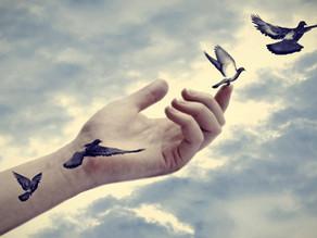 Loslaten, geeft je zoveel ruimte en vrijheid