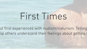 Sharing Our First Time Stories is a Great Way to Promote Nudism/Naturism