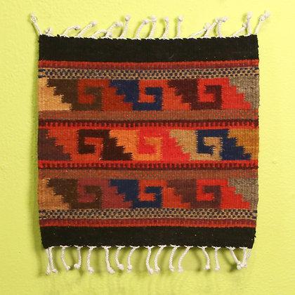Small tapete Mitla design
