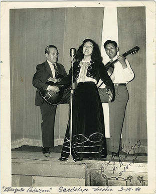 Blanca Rodríguez, early in her career