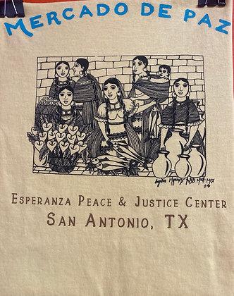 Mercado de Paz - Mujeres Verdaderas by Angelica Morales - Yellow