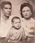 Olivia Sánchez Zamarripa, and husband, Ramón Vasquez, and son, undated