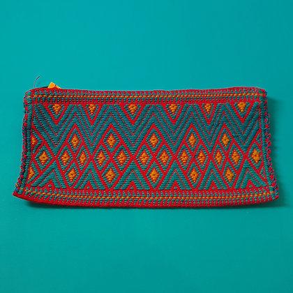Blue zip bag