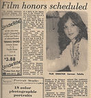 """Me, while I was head writer at Sonrisas, nominated for a Peabody, and one of the keynoters at Cine Festival in about 1977, alongside 4 other mujeres latinas activistas in cine."""