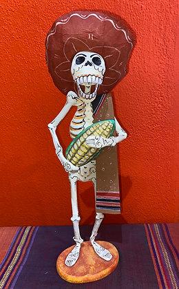 Calaca w/ Corn & Sombrero
