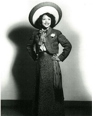 Beatriz Llamas, early in her career
