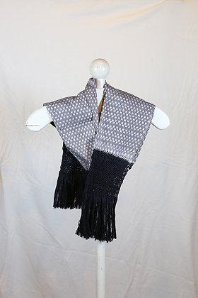 Black & Grey with Black Fringe