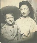 Olivia Sánchez Zamarripa and son, Ramón Vasquez y Sanchez, undated
