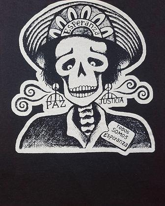 Calavera by Mary Agnes Rodriguez - Black