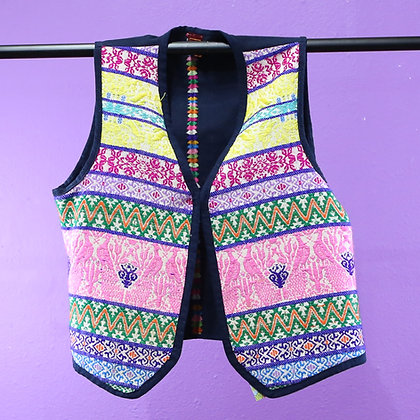 Guatemalan Vest - Multicolored