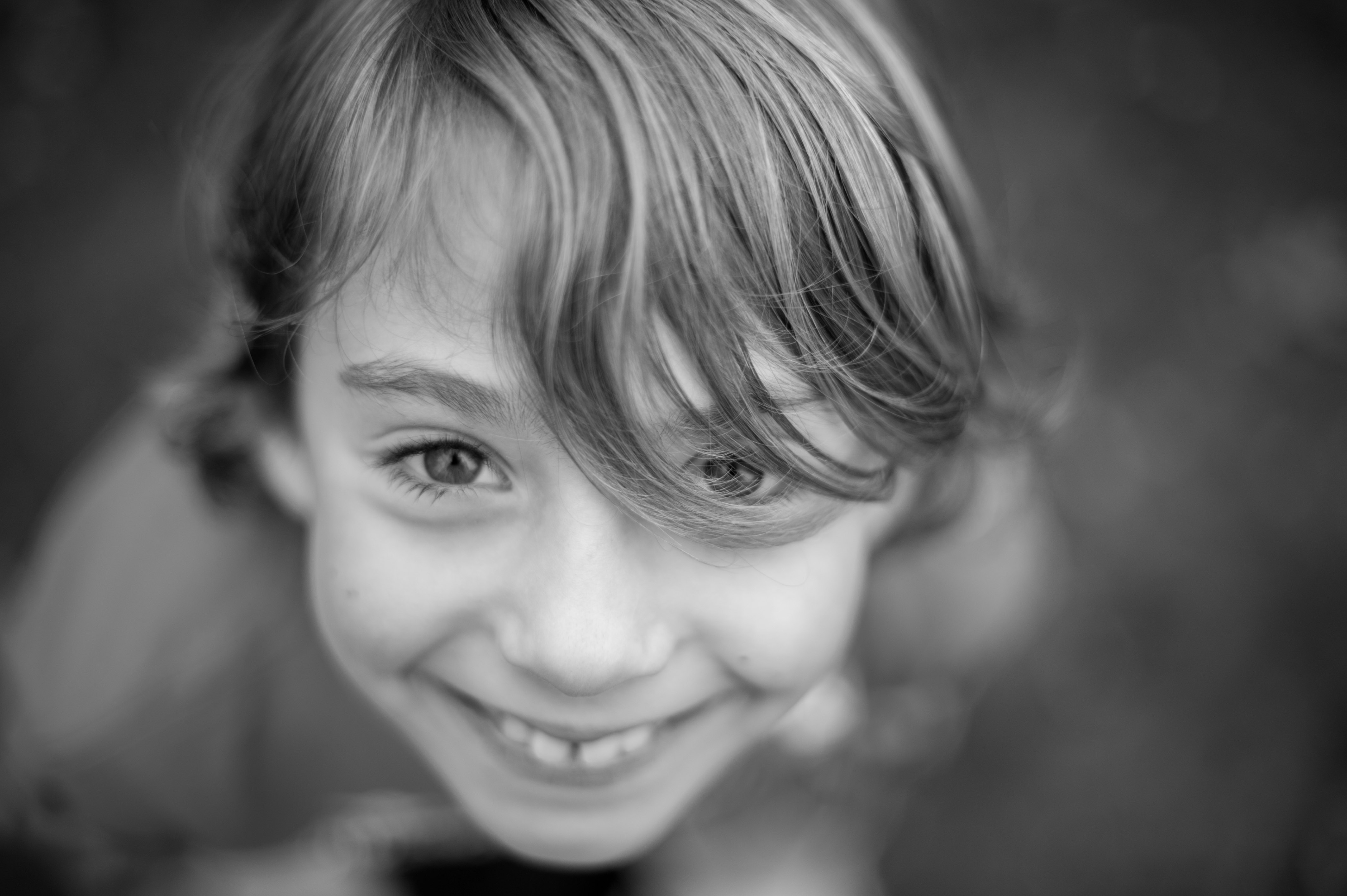 smily kid