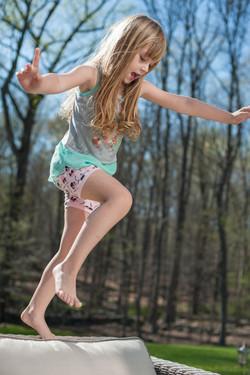 jumpy kid