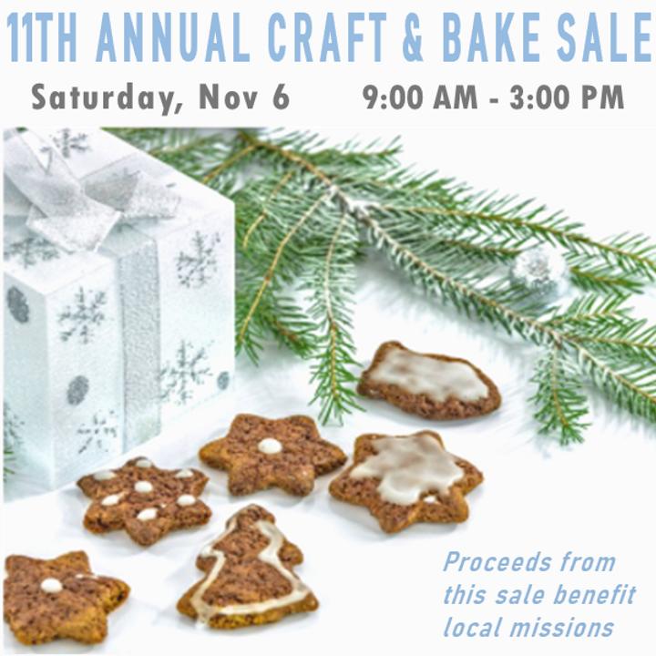 11th Annual Craft & Bake Sale