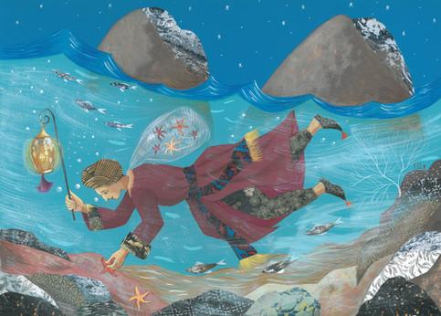 Le pêcheur d'étoiles de mer