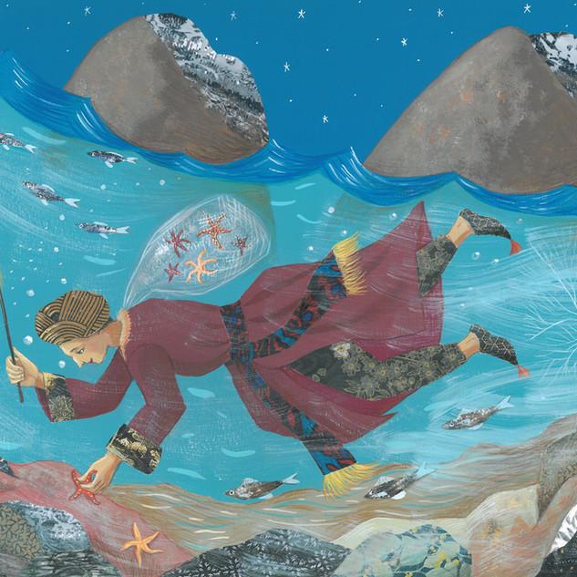Le pécheur d'étoiles de mer