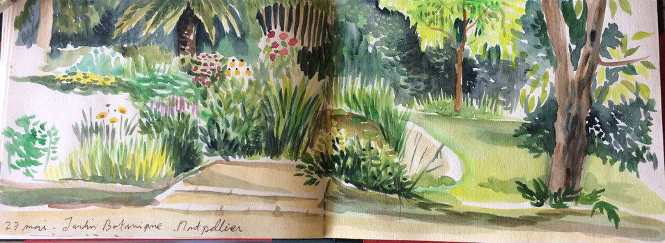 Jardin botanique, Montpellier
