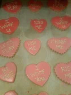 Valentine Confectionery Hearts