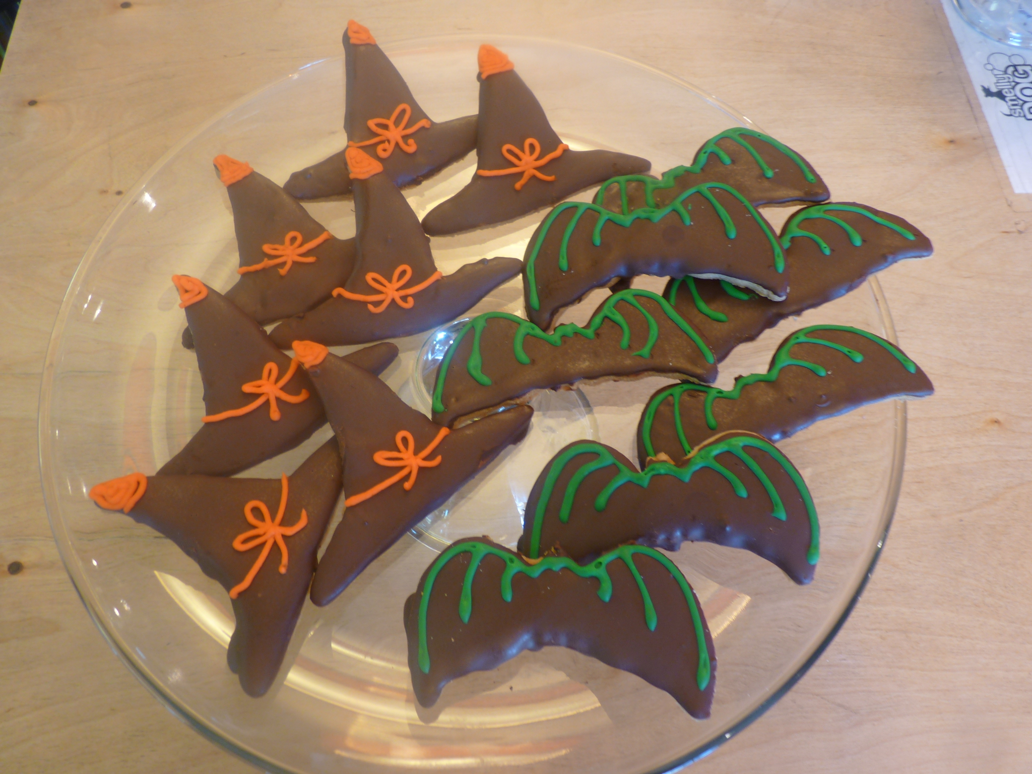 Halloween Witches Hats + Bats