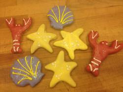 Summer Sea Cookies