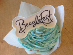 Beaglefest Pupcake