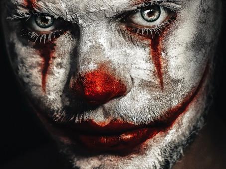 A creepy urban legend story, the clown statue