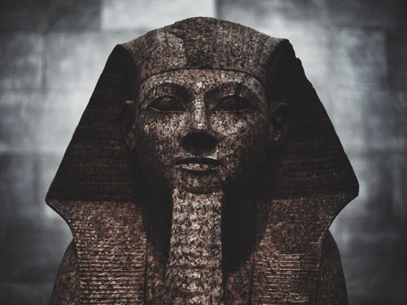 The haunted Egyptian statue