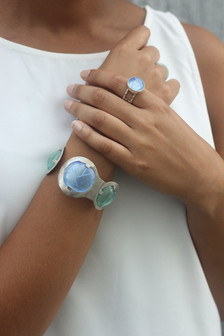 Cell Ring and Open Circuit Bracelet