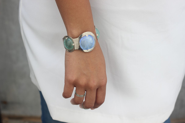 Open Circuit Bracelet and Coil Ring