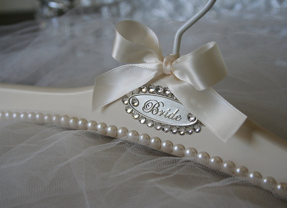 """Claudette"" Wedding Dress Hanger"