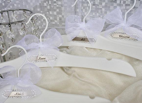 """""""Bridal Party Bridesmaid/Maid of Honor/Matron of Honor"""" Bridal Hanger"""