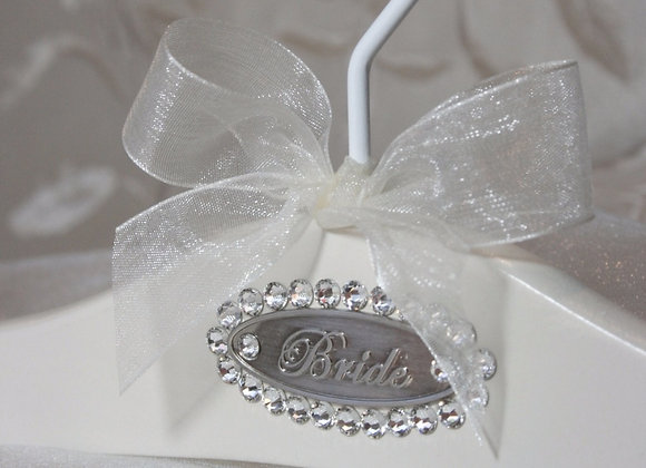 """Grace""Bridal Hanger"