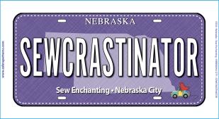 SEWCRASTINATOR Fabric Plate
