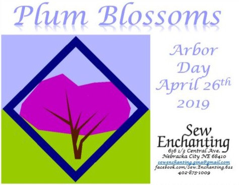 Plum Blossoms Pattern - Arbor Day 2019