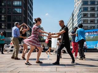 Salsa Cabot Square 3rd August 2018