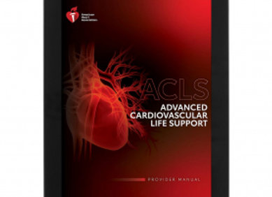 eBook Edition: AHA ACLS Student Manual