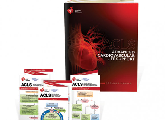 ACLS Student Manual (Paper Back in Stock)