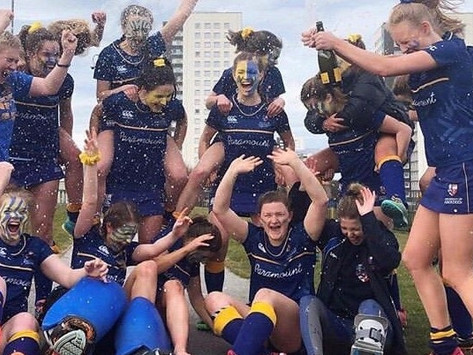 Aberdeen's blue and gold reigns once again