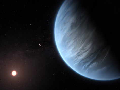 Water detected on an exoplanet located in its star's habitable zone