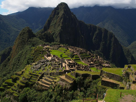 Machu Picchu may have been purposely built on a fault line