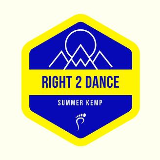 Right 2 Dance summer kemp logo.png